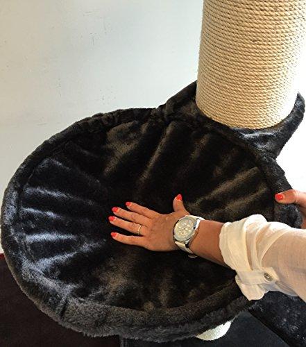 rhrquality liegemulde anthrazit f r kratzbaum 40 cm getested auf tragkraft bis 23kg mit ein 1. Black Bedroom Furniture Sets. Home Design Ideas