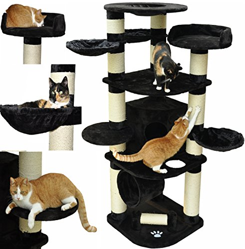 nanook gigant kratzbaum xxl premium qualit t gro e und schwere katzen maine coon ragdoll. Black Bedroom Furniture Sets. Home Design Ideas